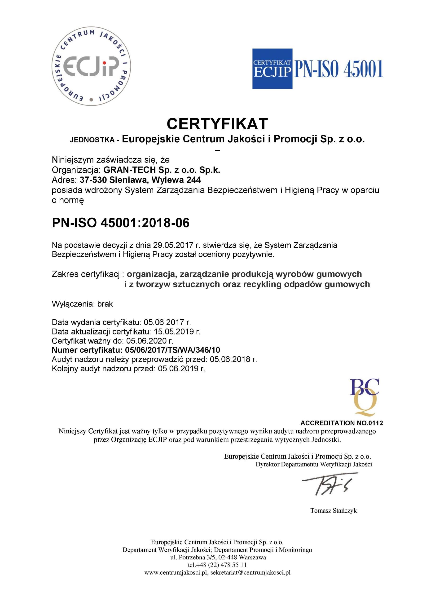 GRAN-TECH - PN-ISO 45001 2019-page-001